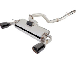 Ford Focus RS 2016 sports exhaust varex smart box cat back stainless steel xforce