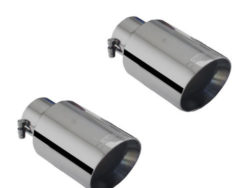 Ford Focus ST Black Chrome Exhaust Tips Xforce