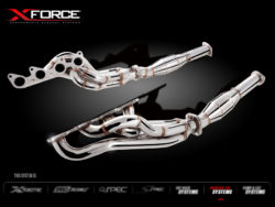 Ford Falcon FG FPV 5L Supercharged Coyote Stainless Steel Headers Extractors 100 Cell Metallic Race Cats