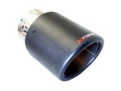Volkswagen VW Golf Carbon Fibre Exhaust Tip Xforce