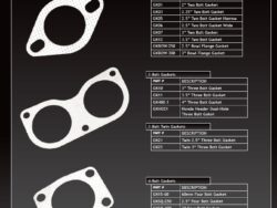 "Stainless Steel Gasket 2"" 3"" 2.25"" 2.5"" 4"" 3.5"""