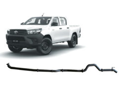 """2018 Hilux 3"""" dpf back exhaust pipe only"""