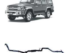 """land cruiser 76 Wagon dpf back pipe only 3"""" exhaust"""